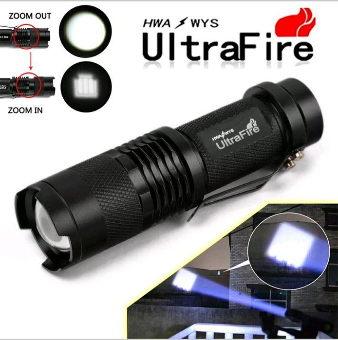 Mini lanterna de grande qualidade com potência de 500 lumens (Novo)