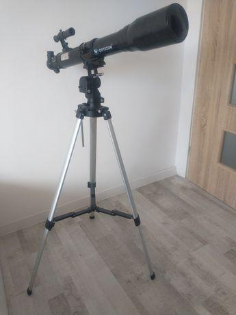 Sprzedam kilka razy używany teleskop firmy Opticon 70F700EQ.