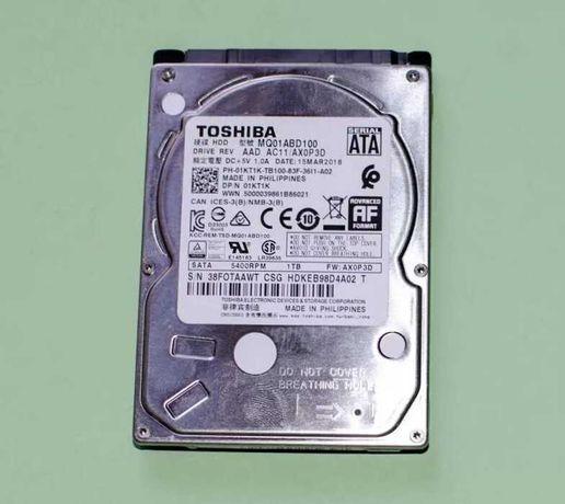Жесткий диск HDD Toshiba 1 TB MQ01ABD100