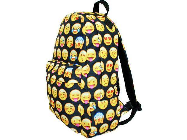 Emoji plecak szkolny idealny stan
