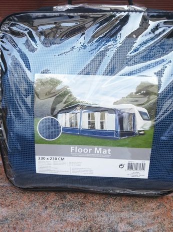 Mata wykładzina do przedsionka ,namiotu 230x230 cm
