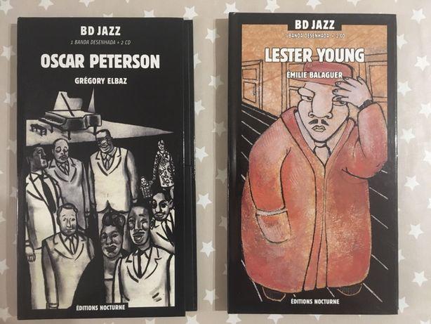 2 volumes BD Jazz