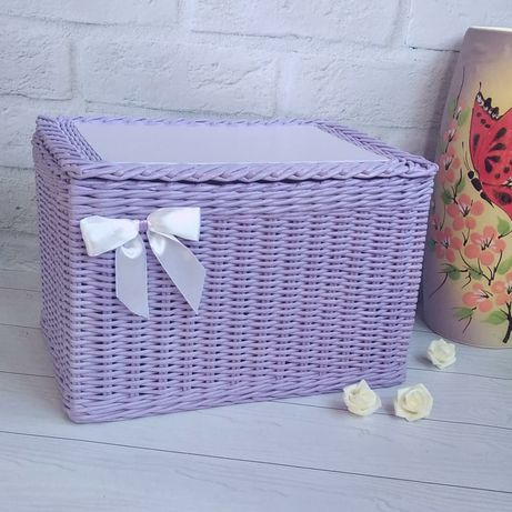 Короб, ящик, для іграшок, для косметики, декор, для игрушек.
