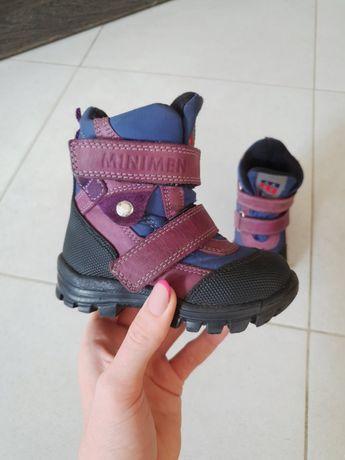 Детские зимние ботинки  MINIMEN