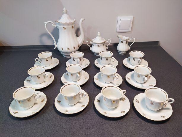 Zestaw kawowy porcelana Wałbrzych - sygnatura 1952,1992
