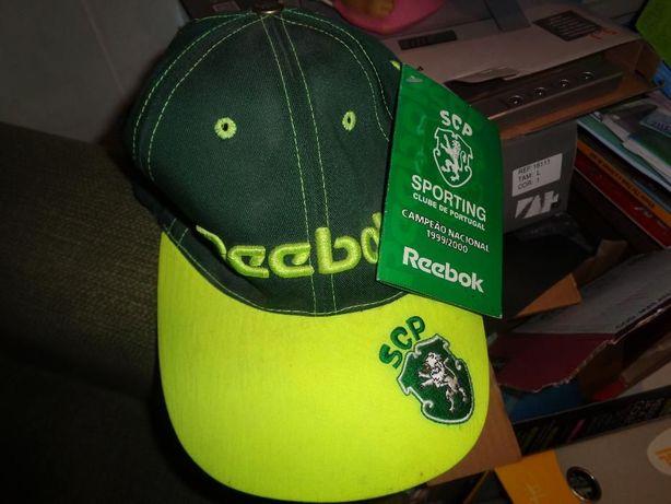 Boné ««reebok««sporting clube de portugal ainda com a etiqueta