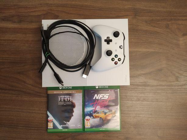 Xbox One S z napędem + Pad + [Opcjonalnie 2 Gry]