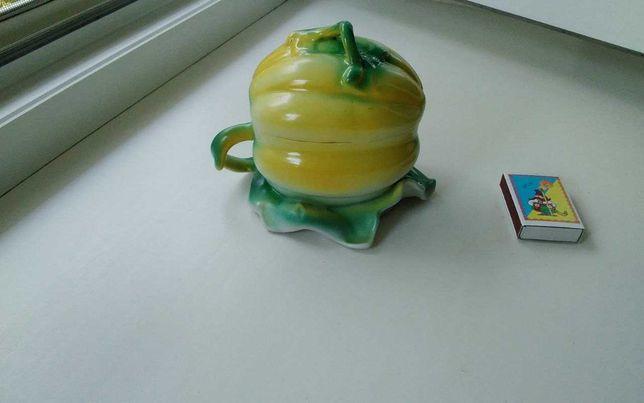 Масленка в виде тыквы ссср