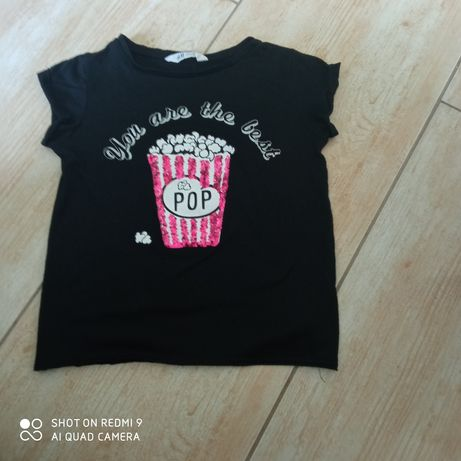 Fajna bluzeczka dla dziewczynki