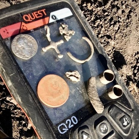 Металлоискатель Quest Q20 NEL, металлодетектор, металошукач