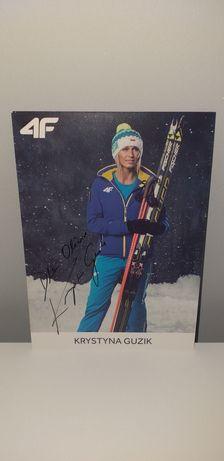 Autograf - Krystyna Guzik