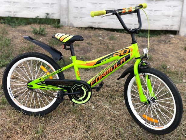 """Детский Велосипед FORMULA RACE 5-10 Лет. 20"""" Колеса Отличное Состояние"""