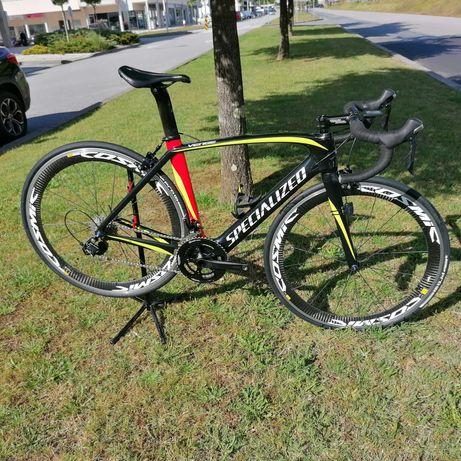 Bicicleta estrada Specialized Venge em carbono tamanho 54