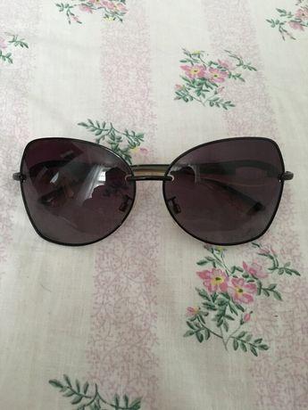Czarne okulary przeciwsłoneczne Porpoise