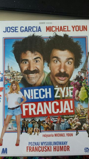 Film niech żyje Francja- Nowy film w folii