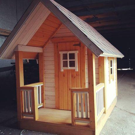 Детские домики,из дерева(акция до 30июля вместо 14800грн цена 11500гр)