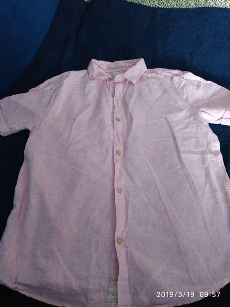 Рубашка Зара на подростка