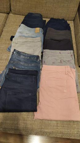 Damskie spodnie, shorty, t-shirt, swetry rozm. 40-42