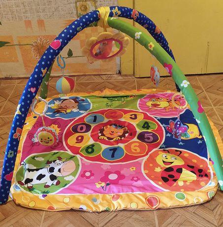 Розвиваючий килимок для діточок 0-12 місяців