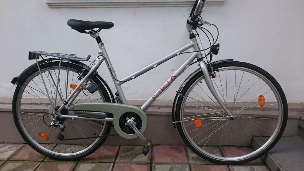 Велосипед 28 Biria Німеччина алюміній обладнання Shimano A Бучач - изображение 1