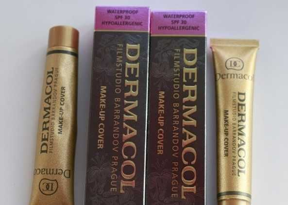 Дермакол тональный крем - dermacol защита кожи) / плотная текстура