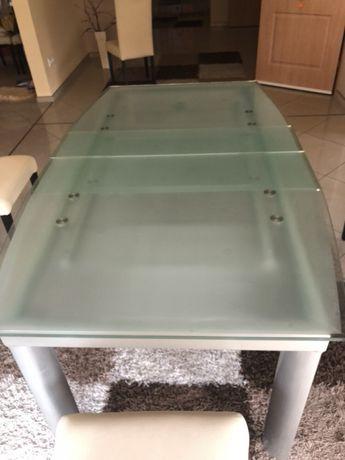 Szklany stół rozsuwany NOWY