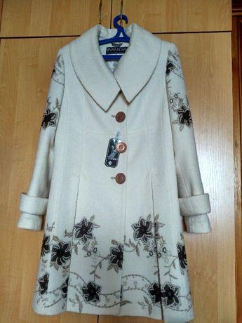 Пальто женское демисезонное шерсть Panda Турция р.46