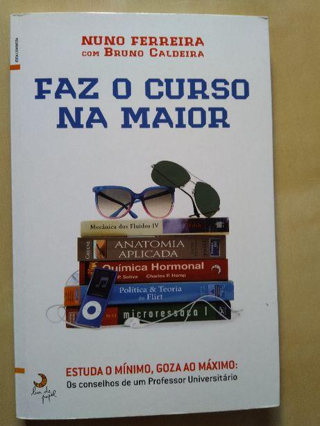 """Livro """"Faz o curso na maior"""""""