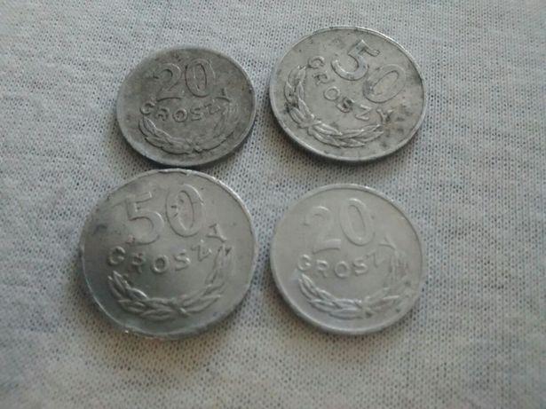Монеты Польши 4 шт. Недорого