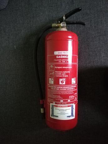 Gaśnica Gaz tech 6 kg proszku gaśniczego Abc