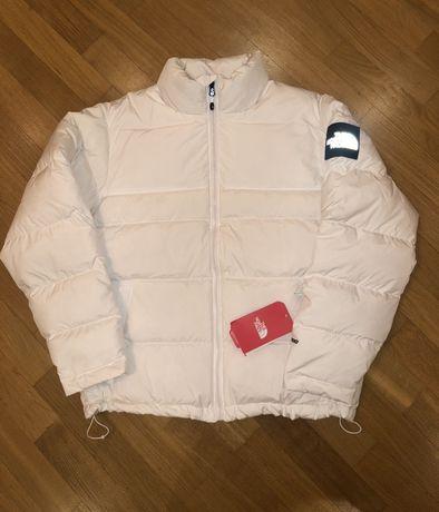 Пуховик The North Face nuptse 1992 куртка off white
