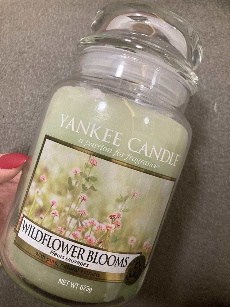 Yankee Candle Wildflower Blooms duża nowa świeca zapachowa unikat