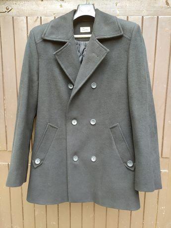 Płaszcz czarny męski elegancki