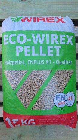 Pellet DIN plus,EN plusA1 Eco-Wirex Wiosenna PROMOCJA!!!