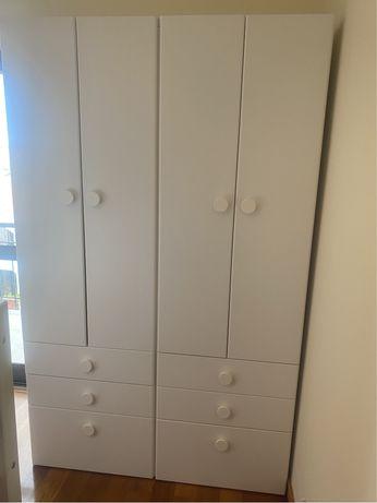 2 Roupeiros IKEA SMASTAD