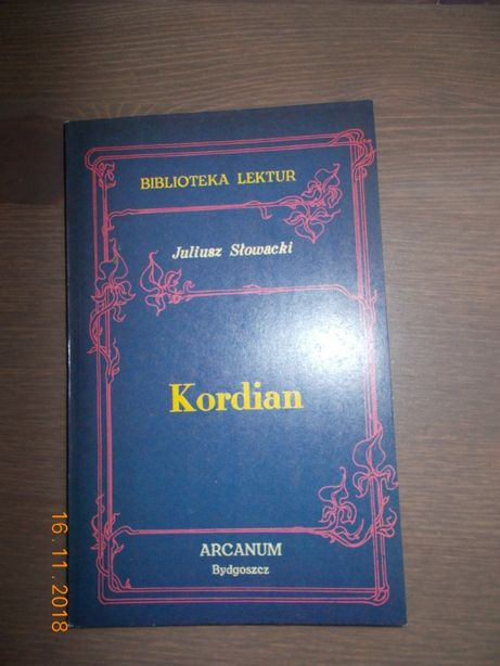 Kordian -Juliusz Słowacki