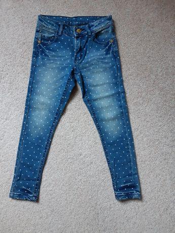 Spodnie dżinsowe 116-122cm