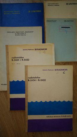 Radmor - oryginalne instrukcje techniczne radiotelefonów