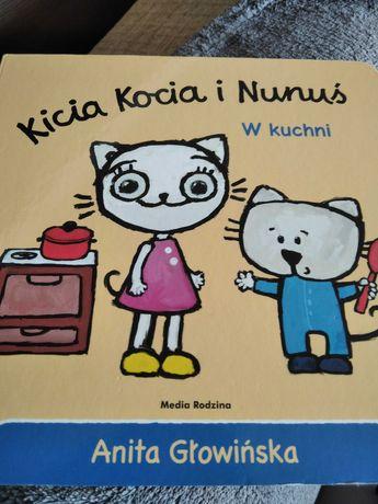Kicia Kocia i Nunus ksiazka