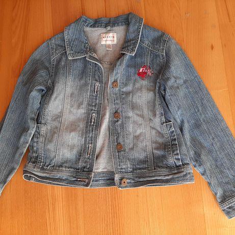 Kurtka katana jeans 9-10 l Jak nowa