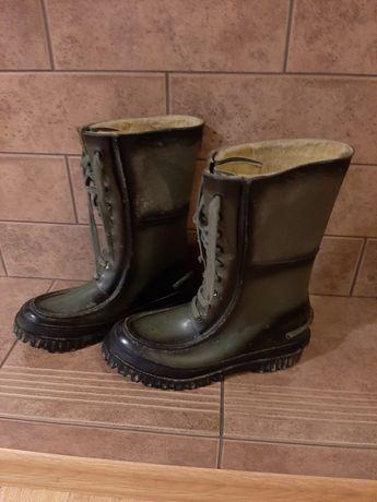 Steel Shank oryginalne gumowane buty ze sznurowadlami rozm.43