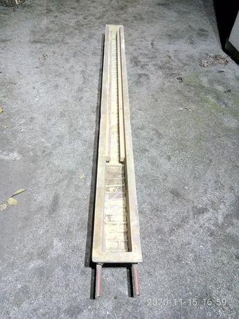 Форма столба стеклопластиковая