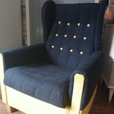 Fotele Uszaki PRL odnowione