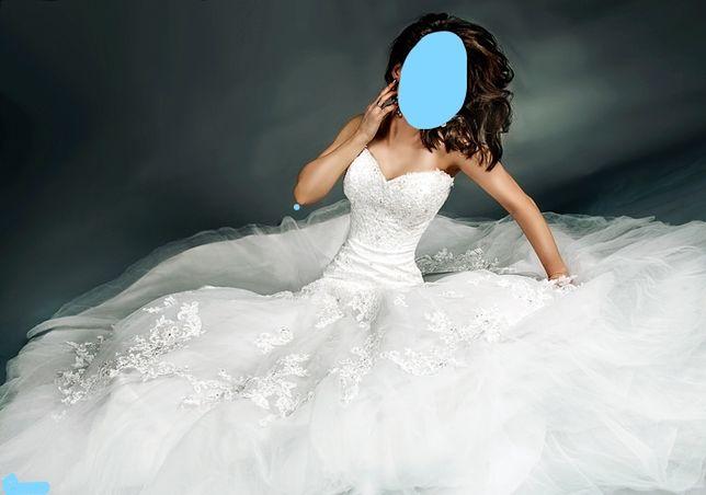 Suknia ślubna 34/36 od projektanta francuskiego Di Jean Mariage