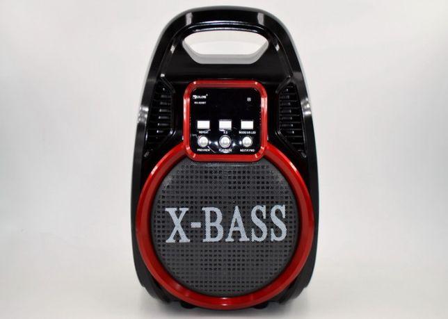 Портативная колонка Golon RX-820 Bluetooth микрофон пульт свето-музыка