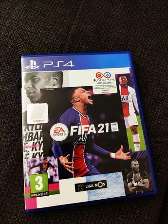 Fifa 21 - PS4 jogo - FIFA 2021