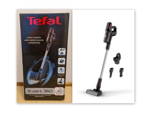 nowy gwarancja pionowy odkurzacz bezprzewodowy TEFAL X-pert 360TY7233