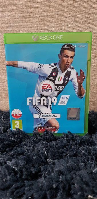 FIFA 19 4K ULTRA HD PL na Xbox one Świnoujście - image 1