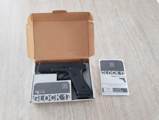 Pistolet replika Glock 17 4.5mm śrut Blow back