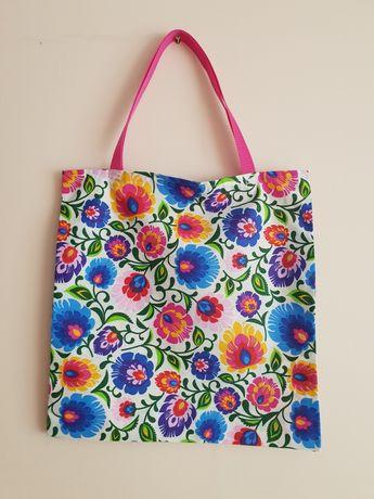 Bawełniane torebki zakupowe torba WF